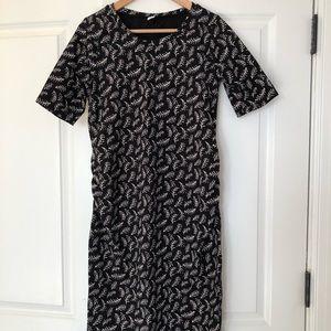 Patterned Maternity Dress